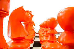 Simulation chess Stock Photo