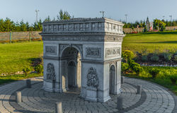 Simulation d'Arc de Triomphe Image stock