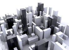Simulation de bâtiment Photo stock