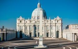 Simulation du bâtiment de Ville du Vatican Photographie stock