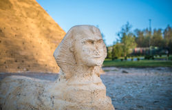 Simulation of sphinx Royalty Free Stock Photography