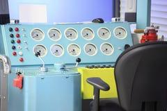 Simulator der elektrischen Lokomotive Lizenzfreies Stockbild