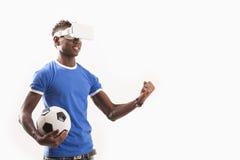 simulator för virtuell verklighet 3D Royaltyfri Foto