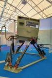 Simulator wheel tractor Royalty Free Stock Photo