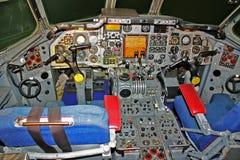 Simulatore della cabina di guida di due Seater Fotografie Stock