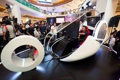 Simulatore di Nissan GT6 fotografia stock