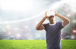 Simulatore di realtà virtuale Fotografie Stock Libere da Diritti