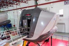 Simulatoren in der kanadischen Luftfahrt-Elektronik von Air Asia in Kuala Lumpur lizenzfreies stockbild