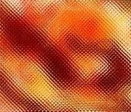 Simuleer gevormd gekleurd glas in levendige warme kleuren stock foto