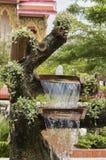 Simulera springbrunnen royaltyfri foto