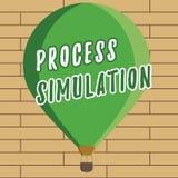 Simulering för process för handskrifttexthandstil Begreppet som betyder den tekniska framställningen, fabricerade studien av ett  vektor illustrationer
