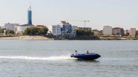 Simulering för uppsnappande för vattentrafik Royaltyfri Fotografi