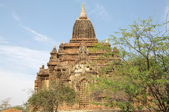 Sin Byu Shin monastic complex, Bagan, Myanmar Royalty Free Stock Photography