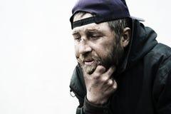 Sin hogar. Fotografía de archivo libre de regalías