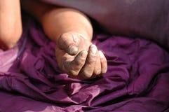 Sin hogar Imagen de archivo libre de regalías