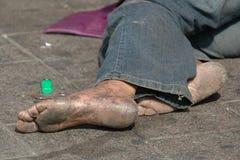 Sin hogar Imágenes de archivo libres de regalías