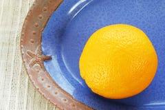 Sinaasappel 2 Stock Fotografie