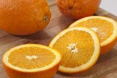 Sinaasappel-1 Stock Foto's