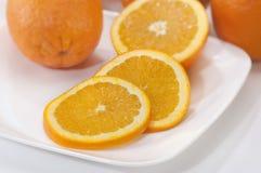 Sinaasappel-3 Royalty-vrije Stock Foto's