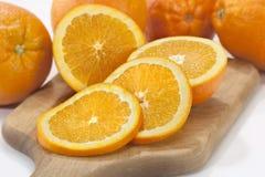 Sinaasappel-4 Royalty-vrije Stock Foto