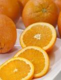 Sinaasappel-4 Stock Foto's