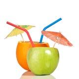 Sinaasappel als drank stock foto