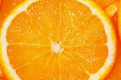Sinaasappel als textuur Stock Afbeelding