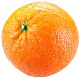 Sinaasappel die op een witte achtergrond wordt geïsoleerdg stock fotografie