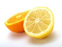 Sinaasappel en citroen Royalty-vrije Stock Foto