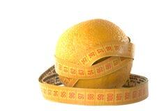 Sinaasappel en de kleermakers- meter Stock Foto's