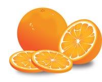 Sinaasappel, illustratie Royalty-vrije Stock Foto
