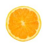 Sinaasappel op een witte achtergrond Royalty-vrije Stock Foto