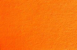 Sinaasappel terrycloth Royalty-vrije Stock Foto