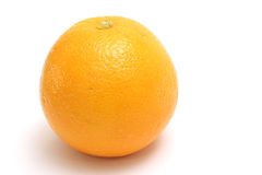 Sinaasappel upclose op bovenkant royalty-vrije stock foto's