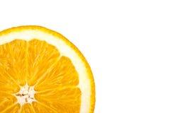 Sinaasappel - veel copyspace Royalty-vrije Stock Afbeeldingen