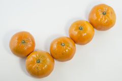 Sinaasappel, vormvinkje Royalty-vrije Stock Foto's