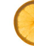 Sinaasappel zoals een zon Royalty-vrije Stock Foto's