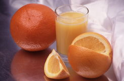 Sinaasappelen royalty-vrije stock afbeelding