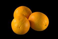 Sinaasappelen. Stock Afbeelding