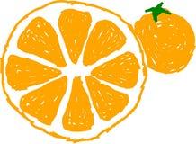 Sinaasappelen royalty-vrije stock afbeeldingen