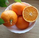 Sinaasappelen Stock Afbeeldingen