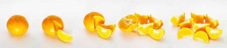 Sinaasappelen Royalty-vrije Stock Fotografie