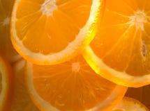 Sinaasappelen een abstracte achtergrond Royalty-vrije Stock Foto