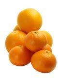 Sinaasappelen en clementines Stock Afbeelding