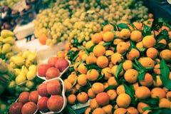 Sinaasappelen in Florence stock foto