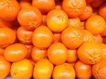 Sinaasappelen voor een achtergrond Stock Fotografie