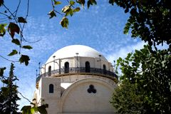 Sinagoga Imagens de Stock Royalty Free