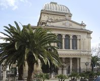 Sinagoga al Tramonto Royalty Free Stock Image