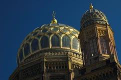 Sinagoga Berlín de Neue Fotografía de archivo libre de regalías