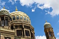 Sinagoga a Berlino Fotografie Stock Libere da Diritti